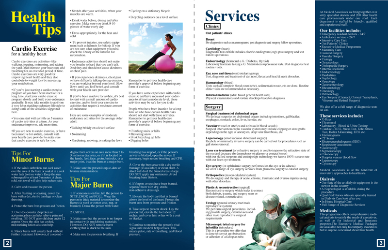 Medical Associates Newsletter (inside)