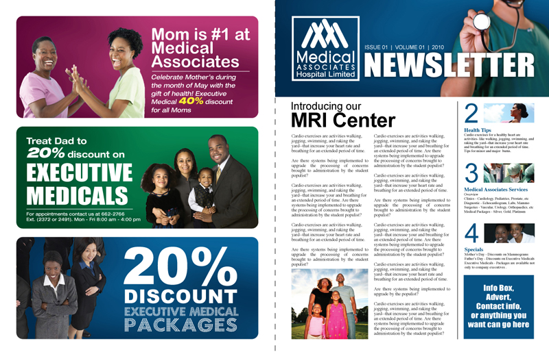 Medical Associates Newsletter Cover