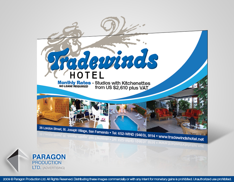 Tradewinds Hotel Billboard