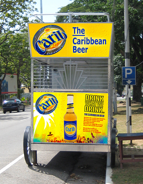 Carib Cart Roadside