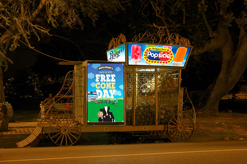 Breyers Cart Roadside